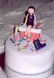 Shoes Cake